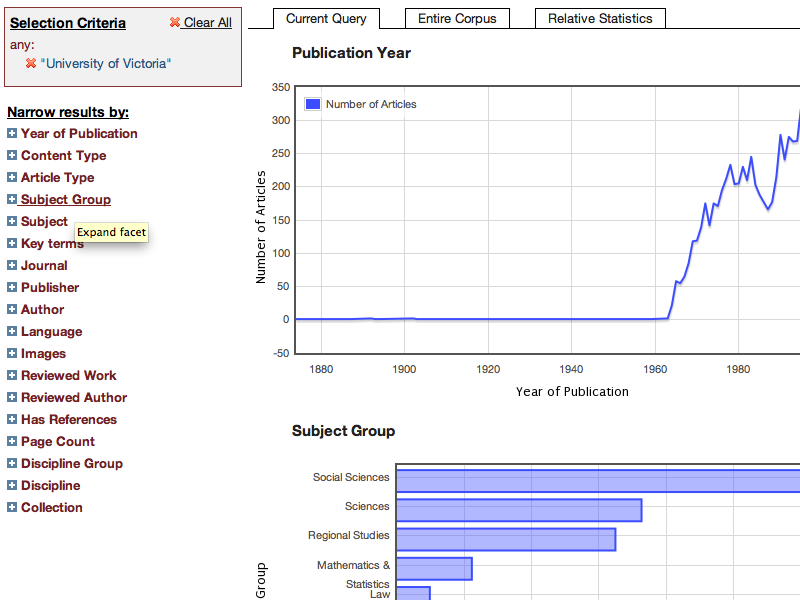 JSTOR Data for Research